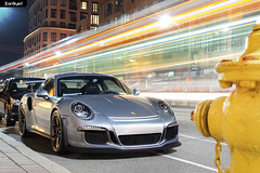 Dispatched. (ZainSyedPhoto) Tags: toronto silver 911 porsche rs yorkville 991 gt3