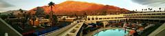 Morning Glow On the Montains (ilandman4evr) Tags: california ca orange rock sunrise hotel glow view hard palm springs range santarosamountains sanjacintomountains sanbernardinomountains ilandman4evr panromantic