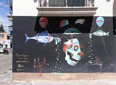 Seitaku tak Aoyama (BE'N 59) Tags: en streetart blanco sanmigueldeallende mexique muros