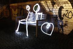 Lightpaint 3 (Trutnauphotography) Tags: lightpainting love night flashlight herz liebe