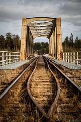 Meselefors, jarnvagsbron (Michael Erhardsson) Tags: april sverige bro vr norrland 2011 jrnvg inlandsbanan meselefors 20110411