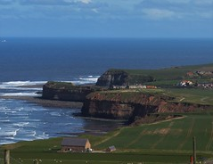 Staithes from Boulby Bank (Martellotower) Tags: sea headland staithes cowbar boulby