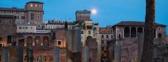 Moonrise (Fairy_Nuff (new website - piczology.com!)) Tags: italy rome roma twilight moonrise