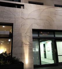Raptor Intaglio (ArtFan70) Tags: california ca sculpture usa bird art america unitedstates relief raptor pasadena civiccenter birdofprey murrill gwynnmurrill pasadenaciviccenter raptorintaglio