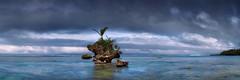 Bula (Bruce_Hood) Tags: seascape coral clouds rocks stacks seastack