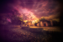 I wanted to Paint... But I have a Canon (LuminiMattia) Tags: old trees sunset sky italy house storm art canon gold dawn spring paint purple dusk country historical dslr beautifull romagna conserve piazzetta cesenatico