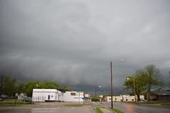 Storm, Topeka, Kansas, 27Apr16 (thefisch1) Tags: street sky cloud storm rain warning interesting nikon wind ominous kansas rotation nikkor topeka tornado 2016