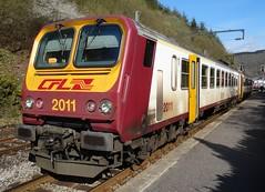 CFL Trainset N 2011 in Kautenbach. (Franky De Witte - Ferroequinologist) Tags: de eisenbahn railway estrada chemin fer spoorwegen ferrocarril ferro ferrovia