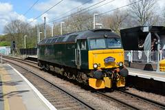 57605 Gospel Oak 27/04/2016 (Brad Joyce 37) Tags: green london locomotive gospeloak fgw lightengine class57 57605 0z57 drslondononamission