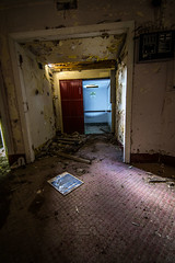 Going Down? (Andrew Gibson.) Tags: urban abandoned architecture hospital scary closed lift cheshire decay ghost elevator ruin haunted human haunting exploration derelict flint urbanexploring morgue urbex holywell northwales sonya7ii ilce7m2 lluestyhospital