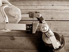 Drop locks bent (JKiste2008) Tags: leg locks brace calipers
