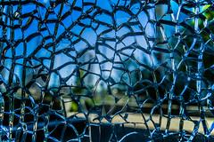 Broken Glass (Don White (Burnaby) Thanks for the Three Million V) Tags: macro broken glass bokeh olympicvillage sigma19mmf28