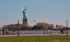 Statue of Liberty Liberty State Park Jersey City (K Lyden Photos) Tags: people jerseycity outdoor statueofliberty libertystatepark northjersey