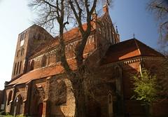 spring in Mecklenburg: Waren (Mritz), Kirche Sankt Georgen  (14th century) (Christopher DunstanBurgh) Tags: mecklenburg waren