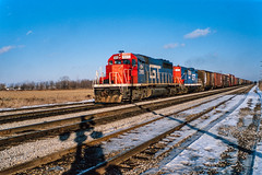 Mystery Location - Solved! (DNO_Dennis) Tags: snow durand gtw 5915 gp9 4449 sd40 nikones1