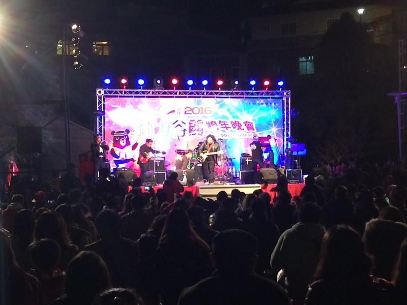 2016谷關跨年會場