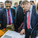 GAVI CEO, Seth Berkley visits a district vaccine store in Ghaziabad, Uttar Pradesh