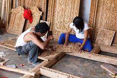 Woodcarving (RunningRalph) Tags: bali indonesia woodcarving indonesi houtsnijwerk kecamatangianyar
