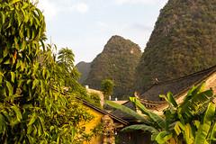 Jiuxian Village (Bridgetony) Tags: china asia southeastasia rooftops guilin yangshuo limestone peaks karst guanxi asiapacific