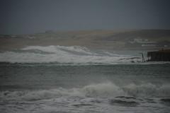 Taing Waves (DSC_6942) (AngusInShetland) Tags: scotland gale spray shetland sandwick galeforce levenwick brooniestaing levenwickbeach