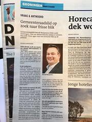 Zo komt @BBenjamins van @mooisnuttigs via @richoldbrandsma in @dvhn_nl naar experiment met #Raad050. Cool! (ritzotencate) Tags: experiment d66 raad050 mooisnuttigs berndtbenjamins