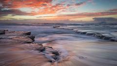 Turimetta sunrise 1 (Ian Moore Photo) Tags: sea beach sunrise nikon sydney d800 turimetta