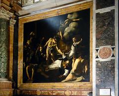 Caravaggio, Martyrdom of Saint Matthew, 1599-1600