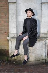IMG_6617 (bobbygphoto) Tags: england man guy london hat fashion gardens vintage neck fur model sitting unitedkingdom turtle style furcoat roll panama pergola loafers flawless modleing dogtheeth dogteethtrousers luxuryman