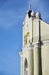 Drohobych. Church. (KireevI) Tags: travel sky building church town europe day cross famous religion sunny ukraine cupola local christianity eastern drohobych