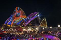 Vivid Storm (merbert2012) Tags: city nightphotography travel people fun cityscape sydney australia lightshow sydneyharbour sydneyoperahouse worldheritagesites longexposurephotography nikond800 vividsydney