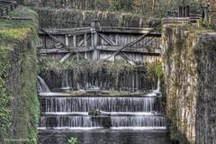 la chiusa (fabrizio daminelli ) Tags: italy verde green water canon river landscape italia leonardo tamron acqua lombardia paesaggio naviglio adda lombardy cascata chiusa ecomuseo fabriziodaminelli