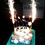 Torta Barbare Imperl za Agencijo 22 na zabavi za našo obletnico.