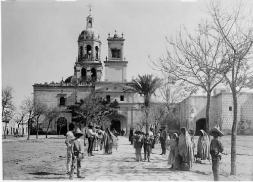 Queretaro, Iglesia de la Santa Cruz ca1890.