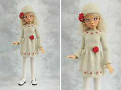 Outfit for Kaye Wiggs MSD (Maram Banu) Tags: outfit doll dress handmade bjd layla sunkissed msd kayewiggs fairystyle marambanu