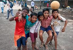 Street kids (RiserDog) Tags: india boys children asia mumbai streetkids slums