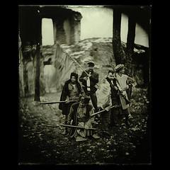 . (czarnobialykwadrat!) Tags: wet century january soldiers ambrotype wetplate xix uprising 19th 1863 bga wiek collodion 10x12 kolodion
