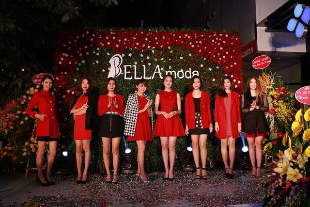 Bella Moda tưng bừng khai trương Showroom Hà Nội