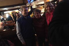 Rand & Kelley Paul with supporter (Gage Skidmore) Tags: new manchester paul senator kentucky hampshire kelley primary meet puritan rand greet backroom 2016