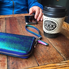 "#coffee at ""bean around the world"" and omg can we talk about how my new druzy spear stone thingy perfectly matches my wallet?!? #rainbow #oilslick #druzy #opalescent #galaxy #yyj #victoria #vacation #travel (ClevrCat) Tags: new travel vacation coffee stone rainbow wallet talk can victoria we galaxy how about matches omg thingy beanaroundtheworld oilslick spear opalescent yyj perfectly druzy instagram ifttt"