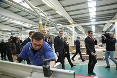 Pedro Passos Coelho na Fábrica WoodOne
