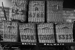 Bradford-34 (Colin Nicholson) Tags: england history museum basket bradford rail railway luggage british trailer