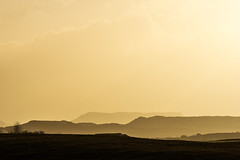 Golden Mountain Landscape (imagesbystefan.com) Tags: travel light vacation mountain nature beautiful landscape golden iceland warm europe soft afternoon view natural outdoor south hill peak scene hills arctic serene bathing range horizone