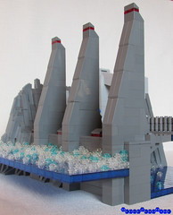 On the dam Part 2 - Particular 1 (Wedge09) Tags: lego scifi moc andromedas