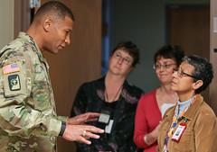BG Patrick Sargent - Madigan Visit 2016 (Madigan Army Medical Center) Tags: madigan mamc regionalhealthcommandpacific bgsargent