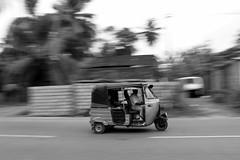 Tuc tuc panning - Mirissa Sry Lanka (Life_is_Love81) Tags: blackwhite asia panning monocromia biancoenero tuctuc mirissa monocrom srylanka