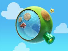 Galactic Q (ijstheedribbble) Tags: inspiration apple design tv graphic screensaver popular dribbble iftt