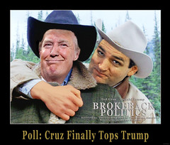 Poll: Cruz Finally Tops Trump (itwilldo) Tags: politics independent politician thedonald donaldtrump republican teaparty brokeback teabagger uselections candidacy televisionpersonality conservativepoliticalactionconference trumpplazahotel itwilldo tedcruz