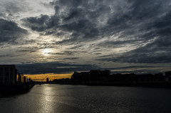 Sunset Liffey River Dublin 08/2014 (naturaphotography) Tags: specland