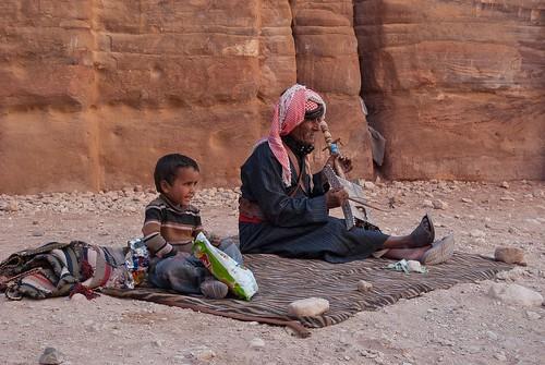 Scene in Petra