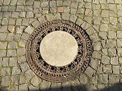 Aussichtsplatform #Drachenfels (RenateEurope) Tags: germany nrw manhole rheinland kanaldeckel drachenfels aussichtsplattform iphoneography viewingplattform renateeurope ipadair2